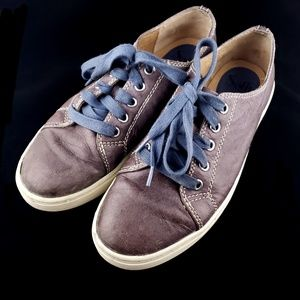 Sofft Baltazar Casual Leather Blue Lace Up Shoes